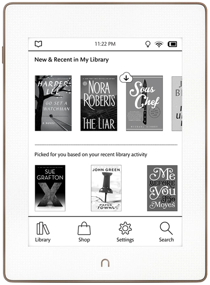 B&N Nook Glowlight Plus