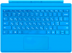 Microsoft Surface Pro 4/5 Type Cover Bright Blue