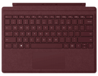 Microsoft Surface Pro 6/7 Type Cover Signature Burgundy