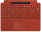 Microsoft Surface Pro X Signature Keyboard with Slim Pen Poppy Red