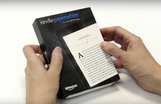 ВИДЕО: Amazon Kindle Paperwhite 2015