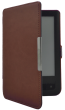 Обложка R-ON Pocketbook 614/624/626 Clips Dark Brown