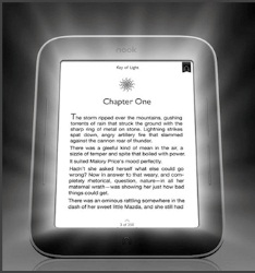 NOOK Simple Touch™ с подсветкой GlowLight™