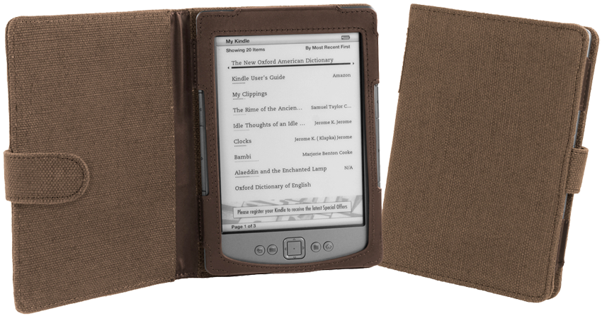 Обложка CoverStore Amazon Kindle 4/5 Natural