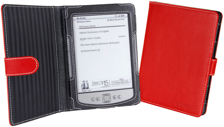 Обложка CoverStore Amazon Kindle 4/5 Red